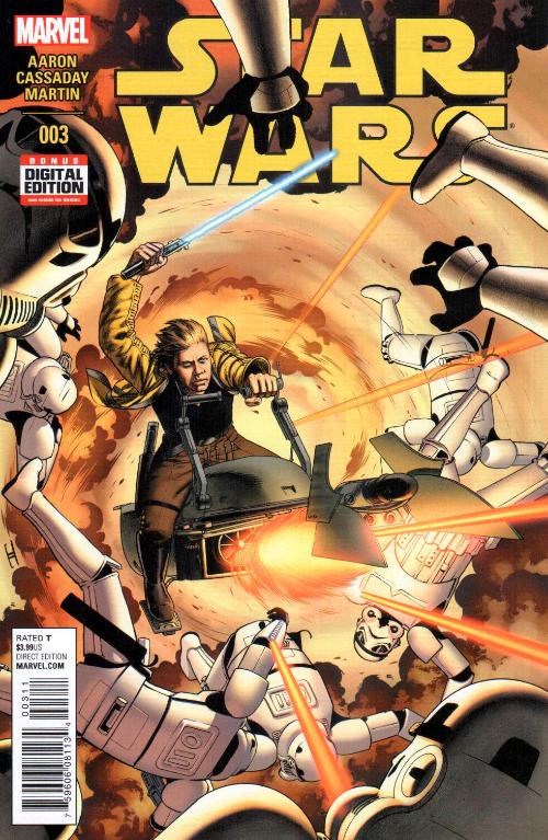Couverture de Star Wars (2015) -3- Book I, Part III Skywalker Strikes
