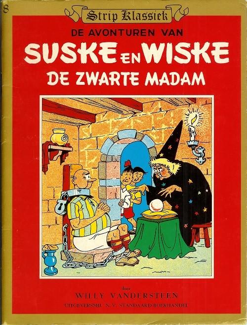 Couverture de Suske en Wiske -140SK8- De zwarte madam
