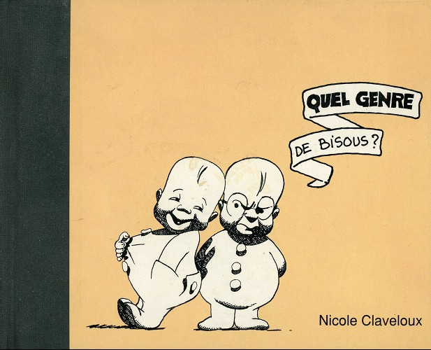 Couverture de (AUT) Claveloux - Quel genre de bisous ?