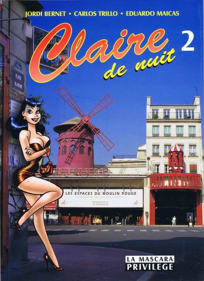 Claire De Nuit - 4 tomes