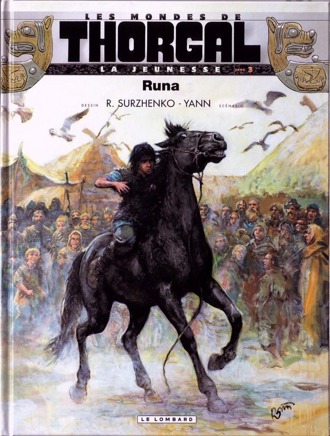 Couverture de Thorgal (Les mondes de) - La Jeunesse de Thorgal -3- Runa
