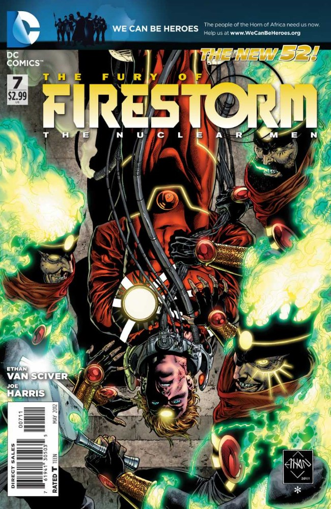 Couverture de Fury of Firestorm (The): The Nuclear Men (2011) -7- Heatseeker