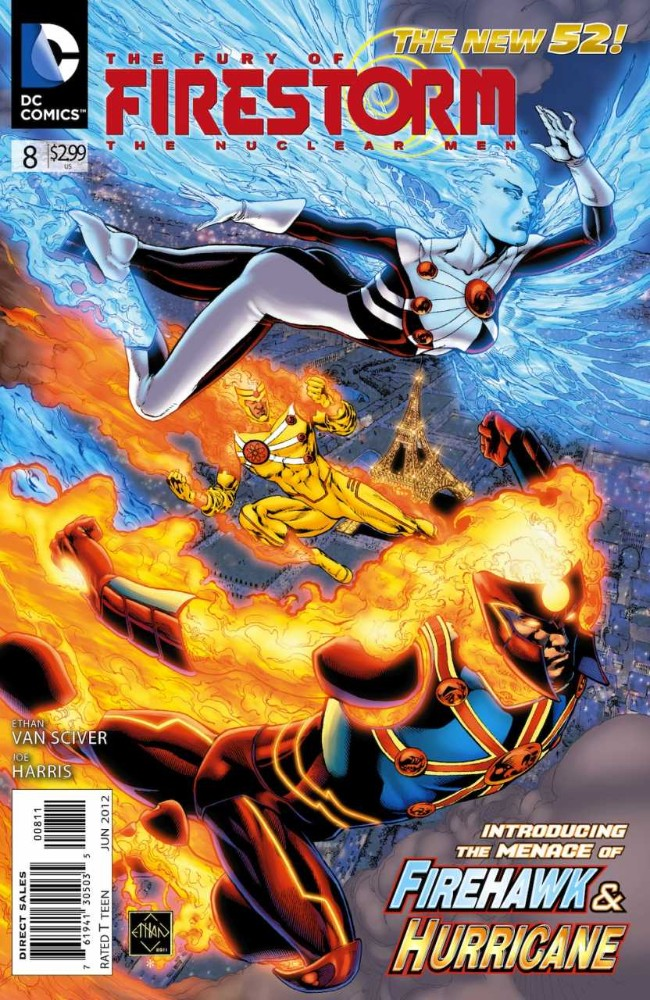 Couverture de Fury of Firestorm (The): The Nuclear Men (2011) -8- Sophisticated Travelers