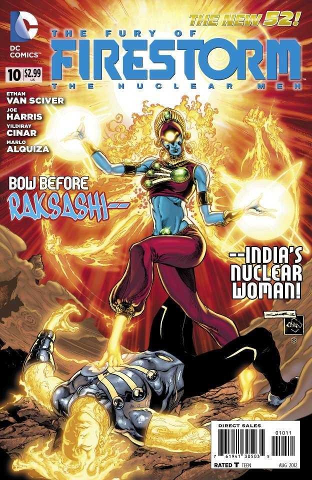 Couverture de Fury of Firestorm (The): The Nuclear Men (2011) -10- Power Application