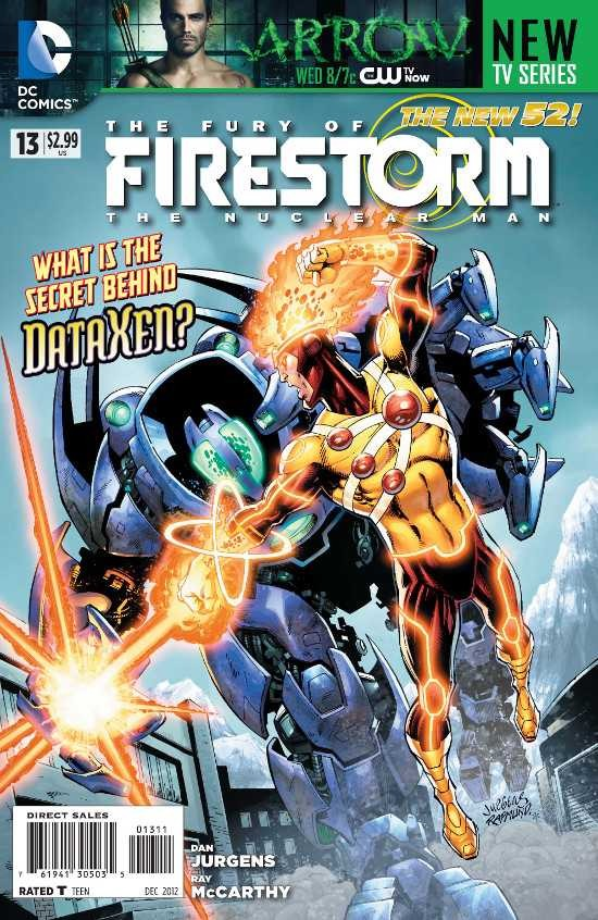 Couverture de Fury of Firestorm (The): The Nuclear Men (2011) -13- Takeover, Part One