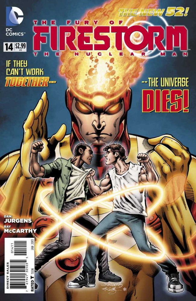 Couverture de Fury of Firestorm (The): The Nuclear Men (2011) -14- Takeover, Part Two