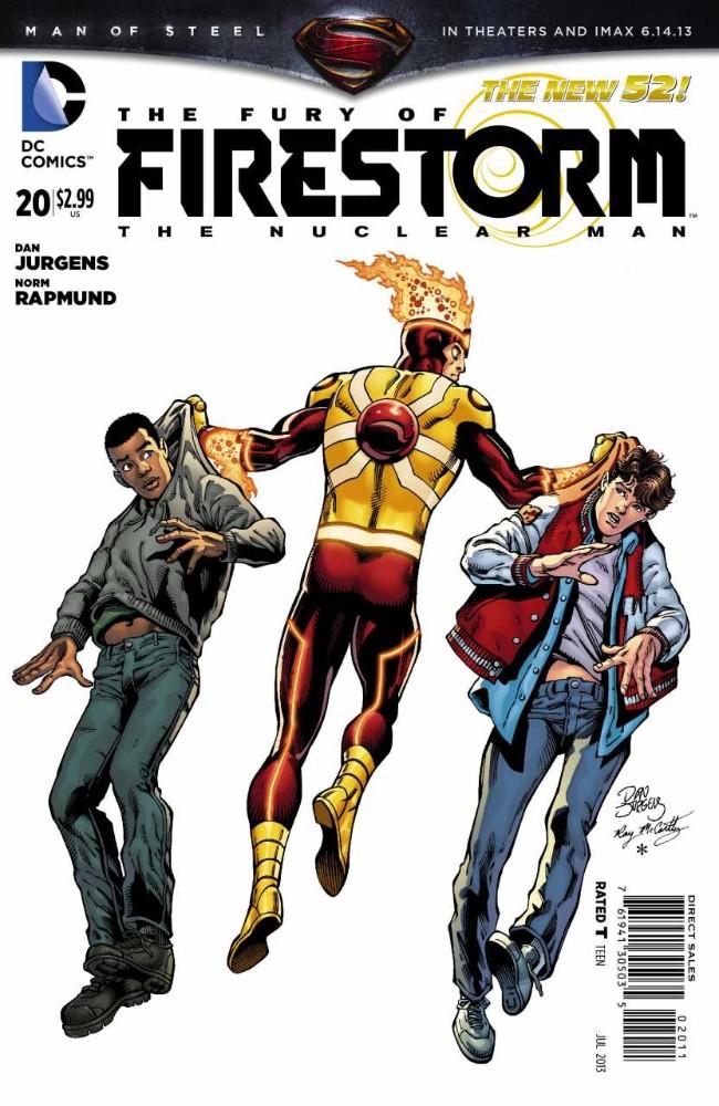 Couverture de Fury of Firestorm (The): The Nuclear Men (2011) -20- Problem Multiplied, Part Three