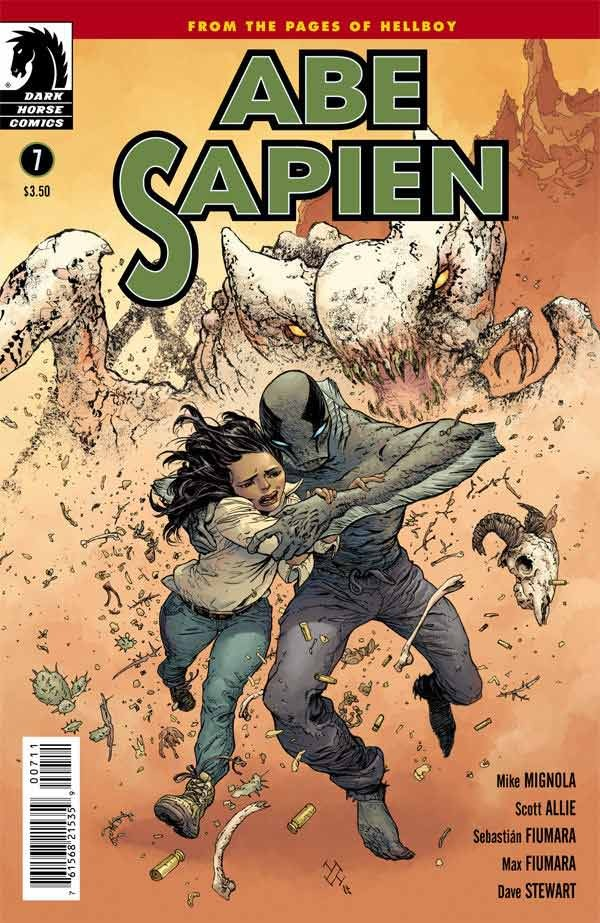 Couverture de Abe Sapien (2008) -17- The Shape of Things to Come Part 2 of 2