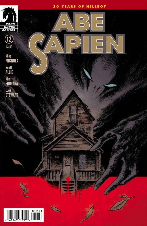 Couverture de Abe Sapien (2008) -22- The Garden