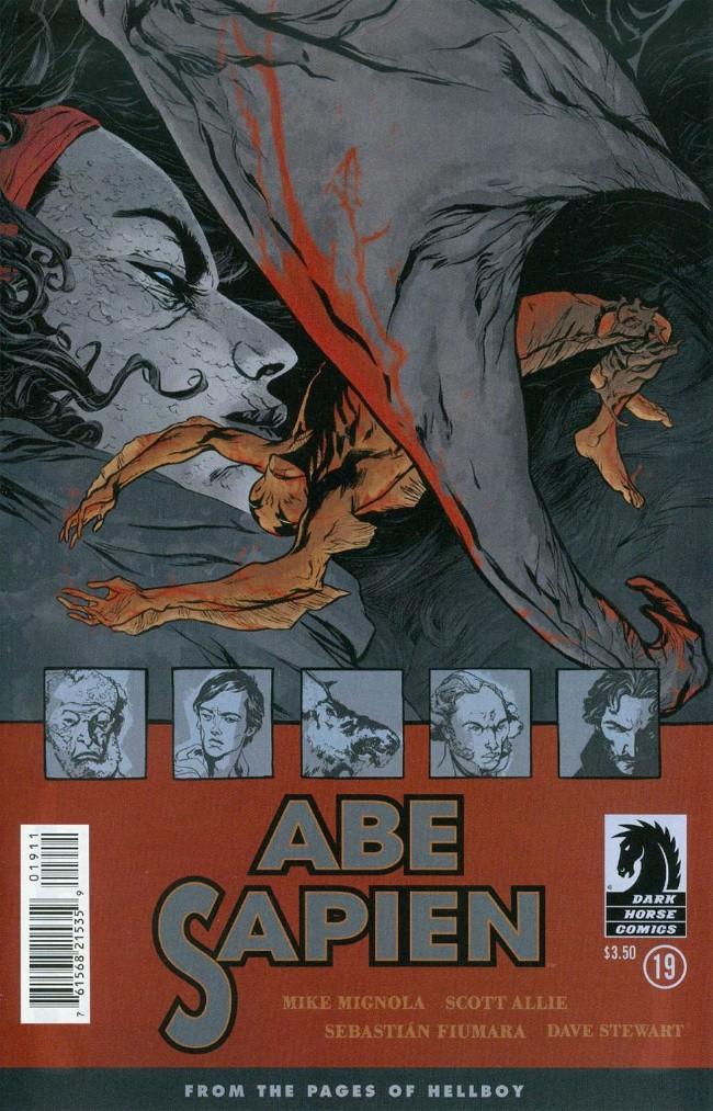Couverture de Abe Sapien (2008) -29- Dayana