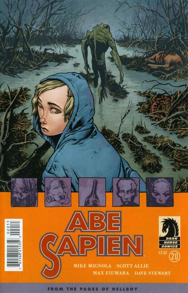 Couverture de Abe Sapien (2008) -30- Megan