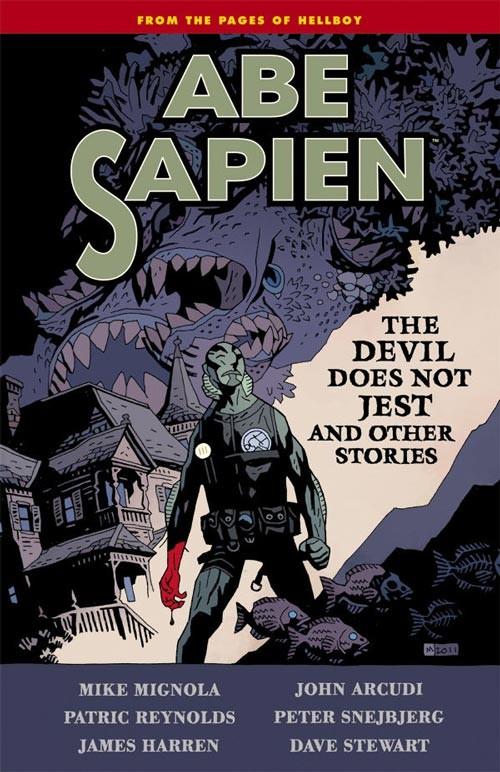 Couverture de Abe Sapien (2008) -INT02- The Devil Does Not Jest and Other Stories