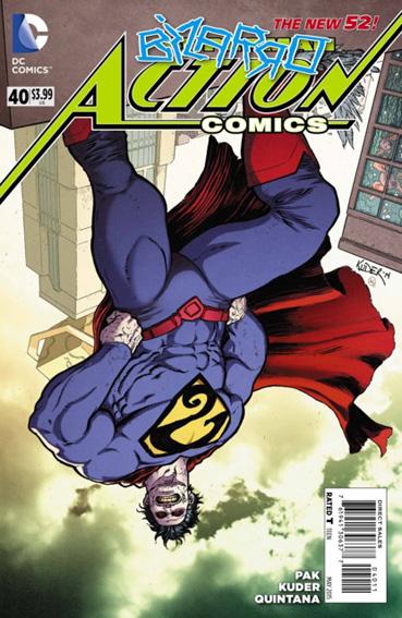 Couverture de Action Comics (2011) -40- Mirror cracked