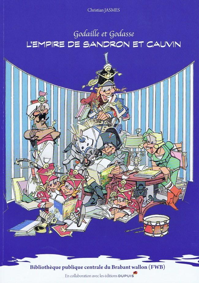 Couverture de Godaille et Godasse -HS- L'Empire de Sandron et Cauvin