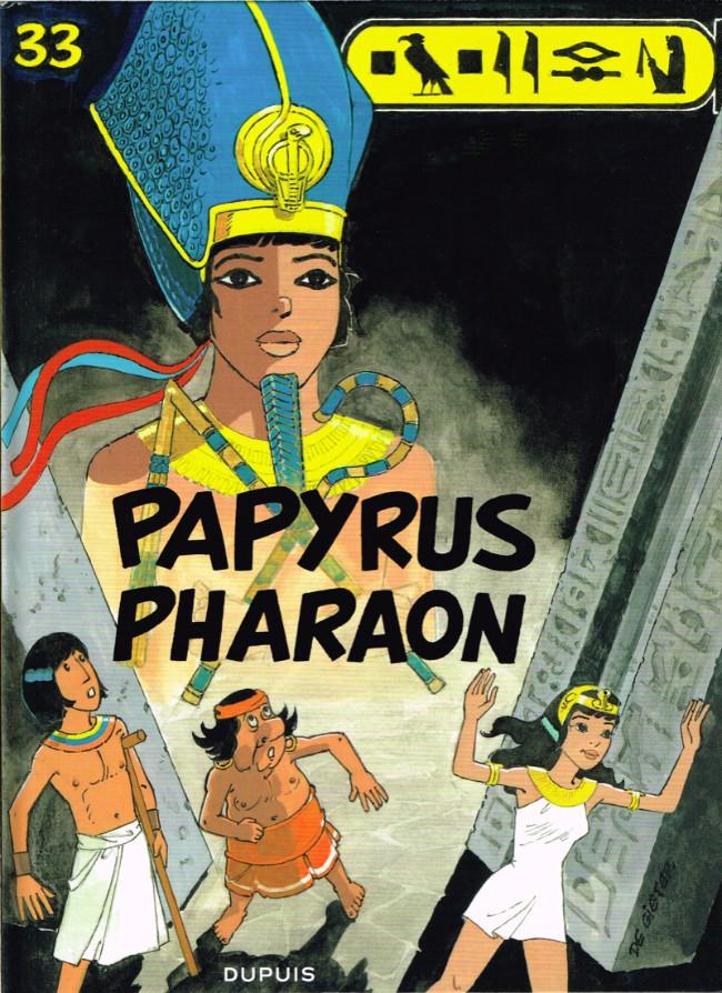 Couverture de Papyrus -33- Papyrus Pharaon