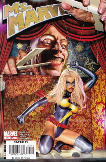 Couverture de Ms. Marvel (2006) -20- Puppets, part 3