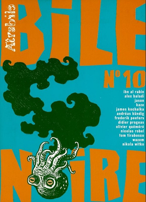 Couverture de Bile noire -10- Printemps 2001