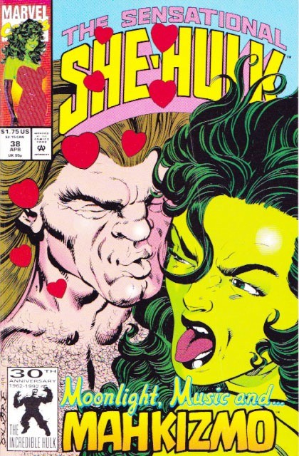 Couverture de Sensational She-Hulk (The) (1989) -38- Love in bloom