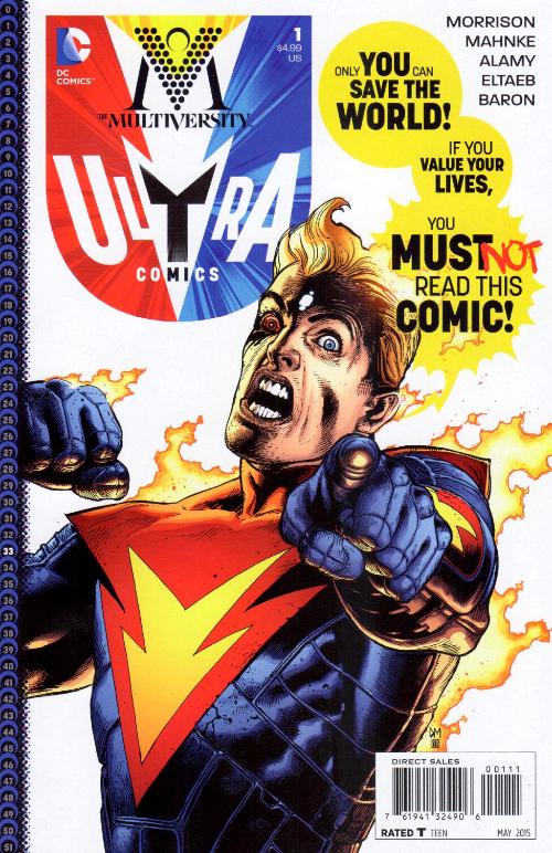 Couverture de The multiversity (2014) - Ultra Comics