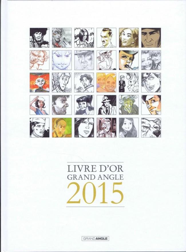 Couverture de Livre d'or Grand Angle 2015