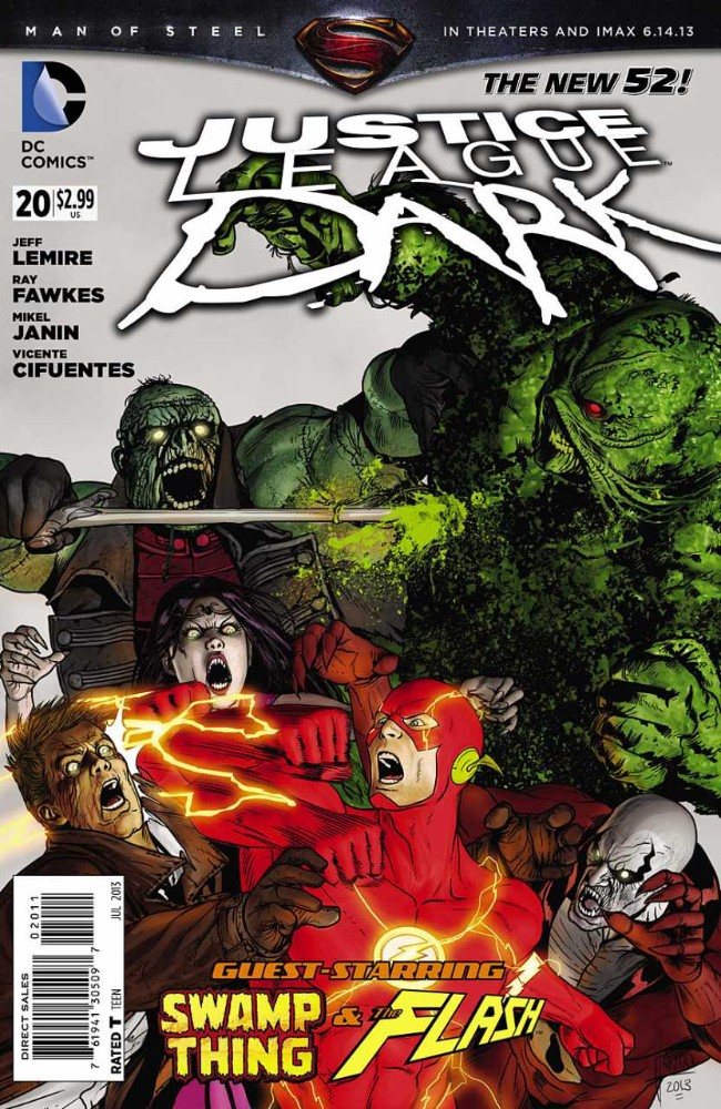 Couverture de Justice League Dark (2011) -20- Horror City, Part Two: The Nightmare Gospel