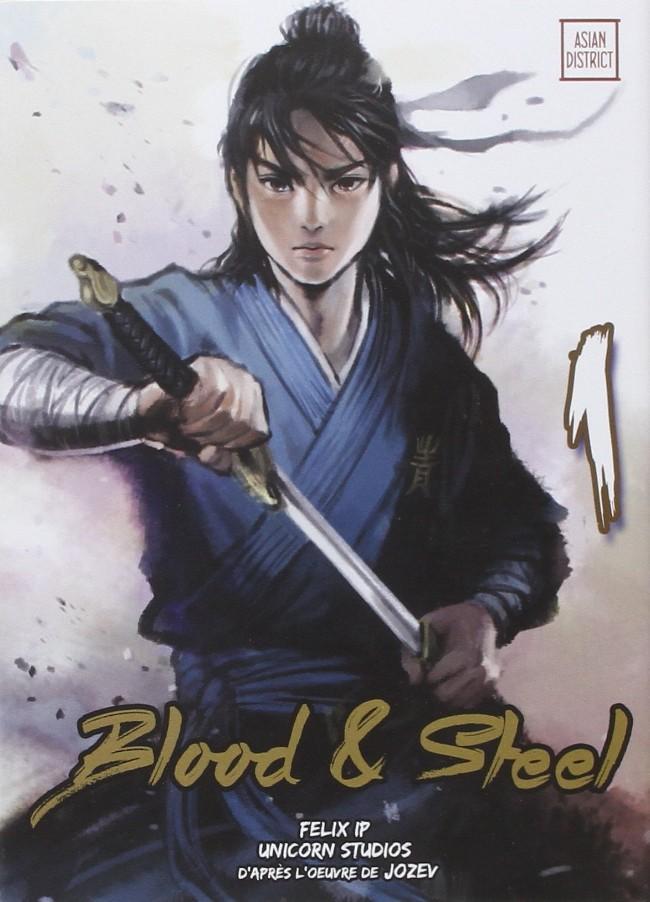 Couverture de Blood & Steel -1- Tome 1