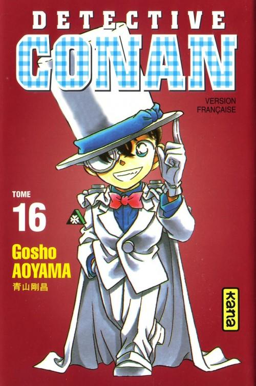 Couverture de Détective Conan -16- Tome 16