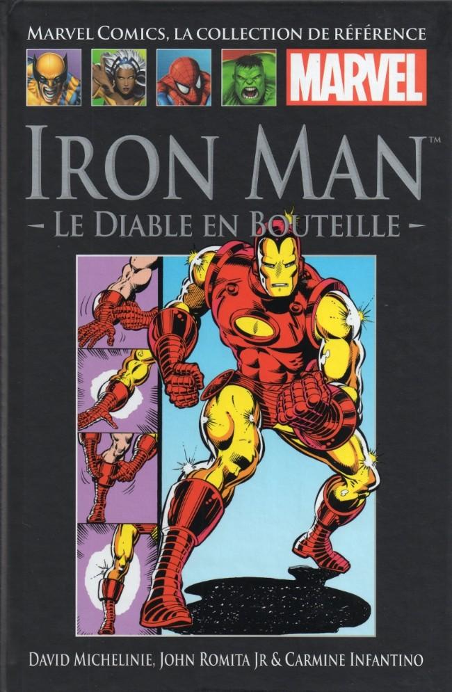 Couverture de Marvel Comics - La collection (Hachette) -302- Iron Man - Le Diable en Bouteille