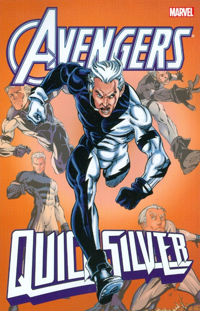 Couverture de Quicksilver (1997) -INT- Avengers: Quicksilver