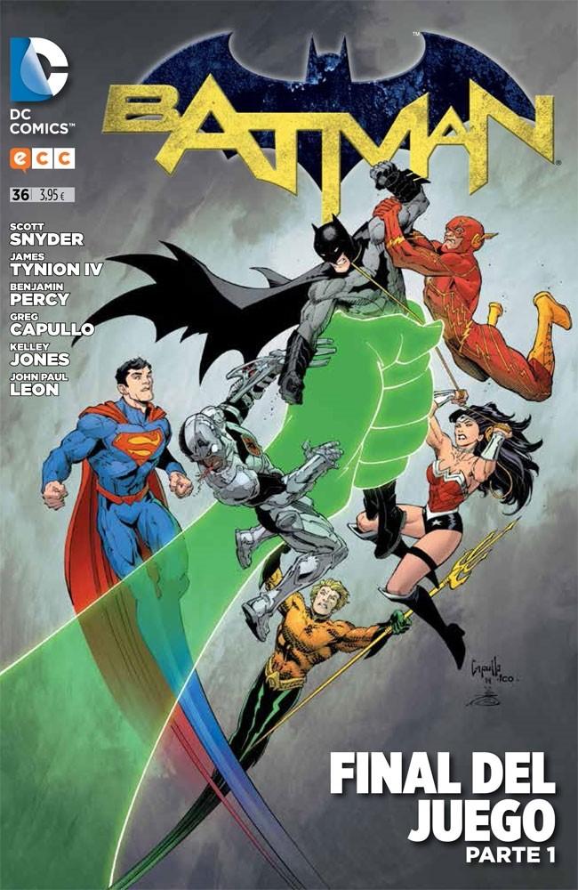 Couverture de Batman (en espagnol) -36- Final del Juego. Parte 1