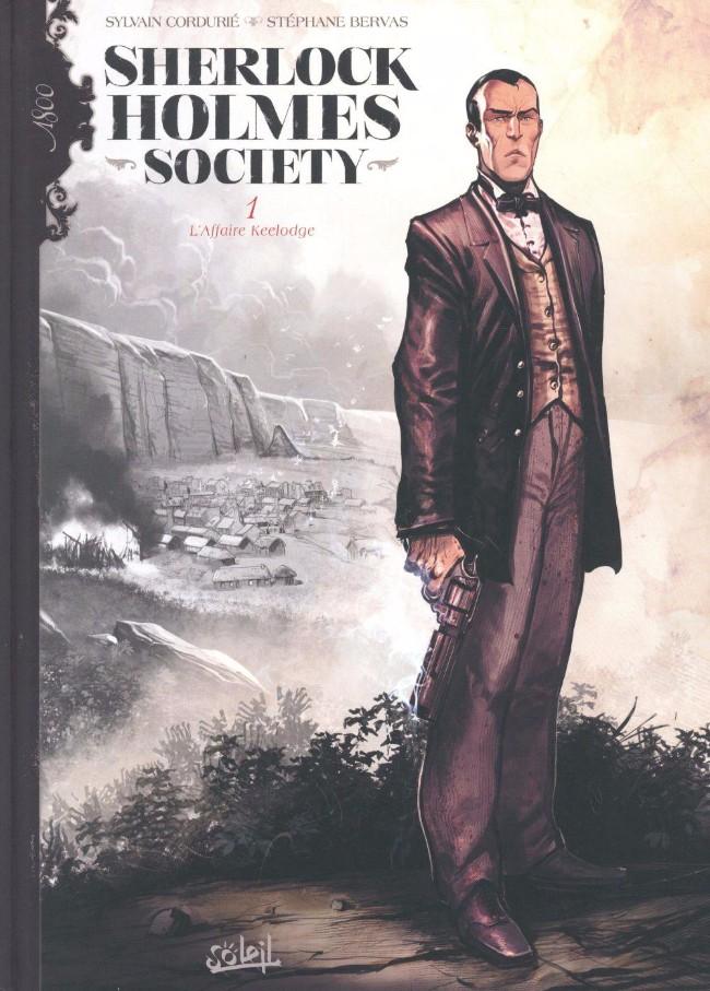 Couverture de Sherlock Holmes Society -1- L'Affaire Keelodge