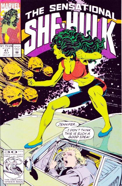 Couverture de Sensational She-Hulk (The) (1989) -41- Rock and ruin