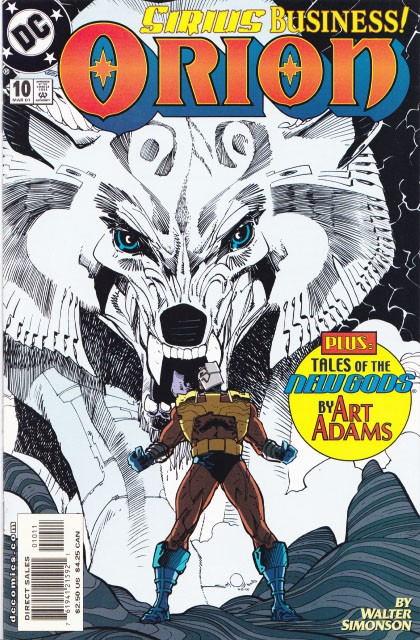 Couverture de Orion (Simonson, 2000) -10- Sirius business! or dog is god spelled backwards!