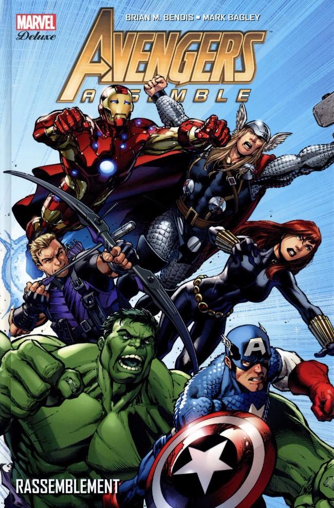 Couverture de Avengers (Marvel Deluxe) - Avengers Assemble: Rassemblement