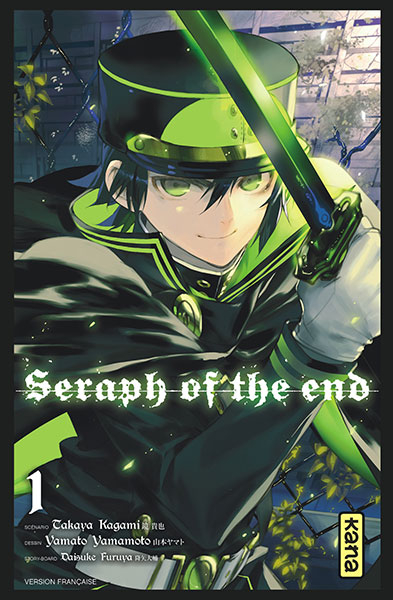 Couverture de Seraph of the End -1- Tome 1