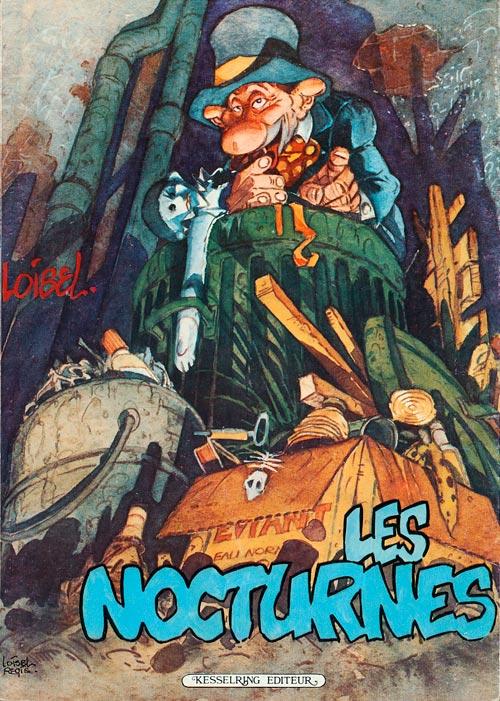 Couverture de Les nocturnes - Les Nocturnes