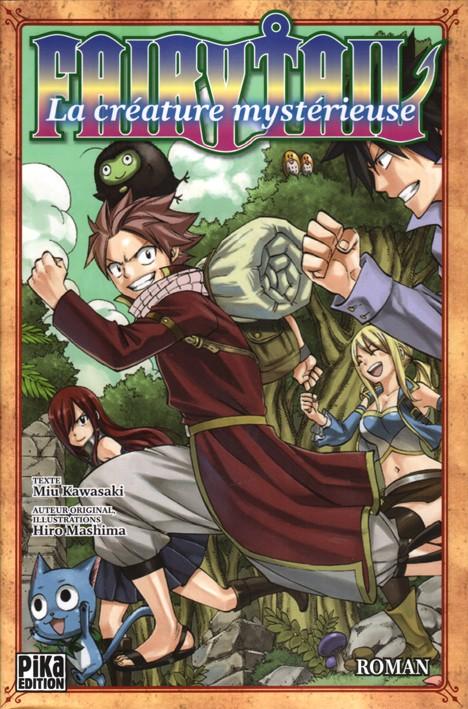 Couverture de Fairy Tail -HS3- La Créature mystérieuse