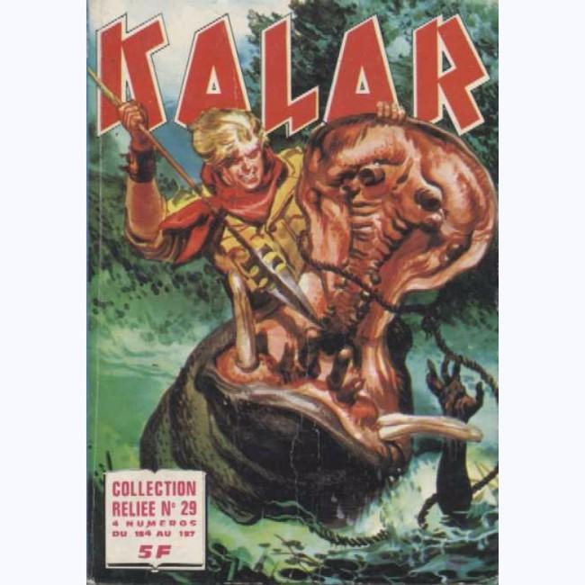Couverture de Kalar -Rec29- Collection Reliée N°29 (du n°154 au n°157)