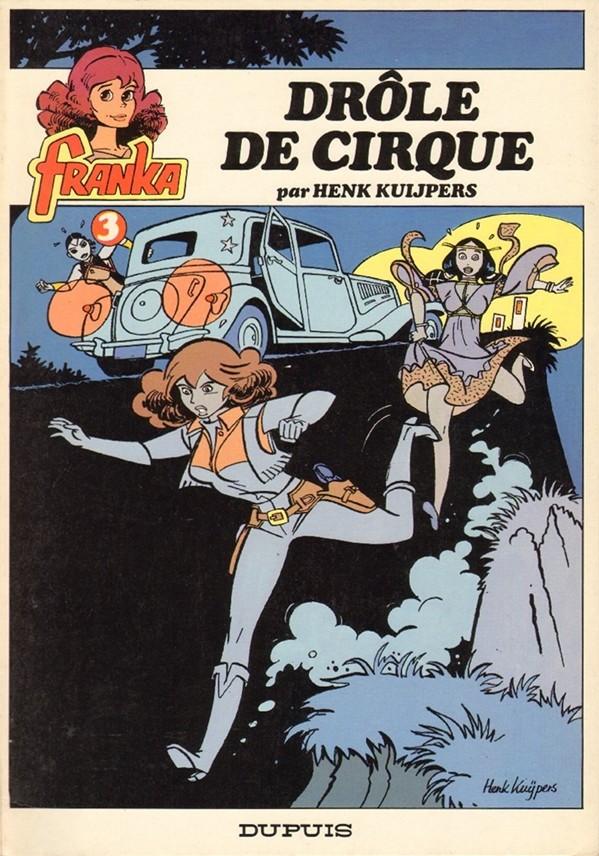 Couverture de Franka (Dupuis) -3- Drôle de cirque