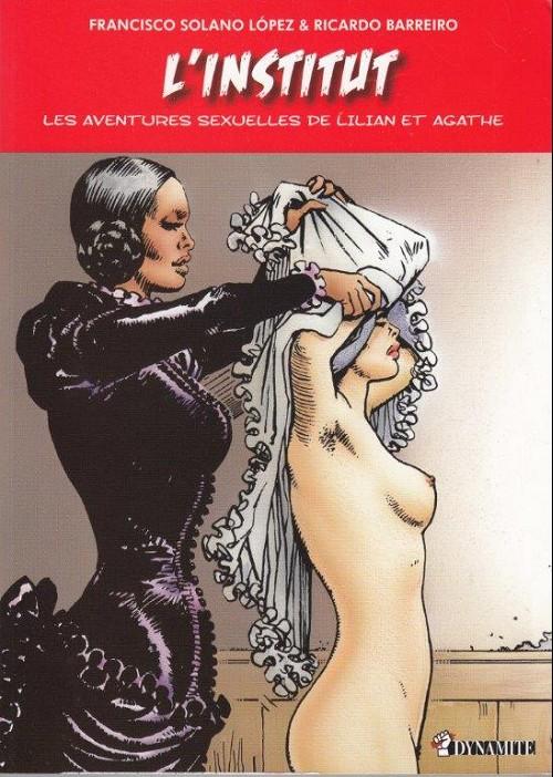 Couverture de Les aventures sexuelles de Lilian et Agathe -2- L'institut