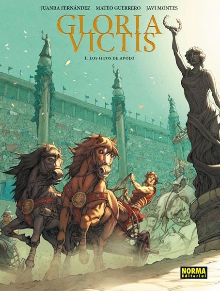 Couverture de Gloria Victis (en espagnol) -1- Los hijos de Apolo