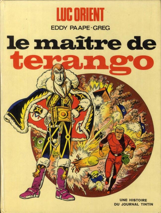 Couverture de Luc Orient -3- Le maître de Terango