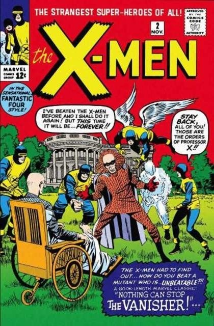 Couverture de Uncanny X-Men (The) (1963) -2- No one can stop the vanisher!