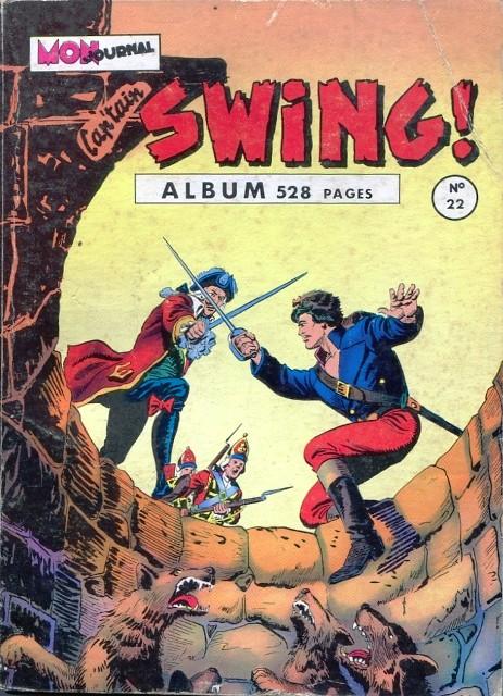 Couverture de Capt'ain Swing! (1re série) -Rec022- Album N°22 (du n°85 au n°88)