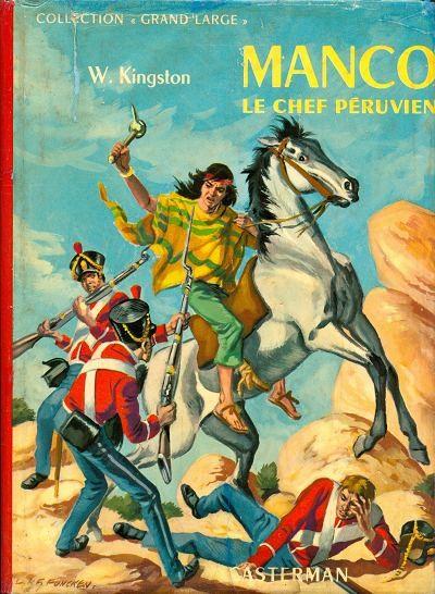 Couverture de (AUT) Funcken - Manco le chef péruvien