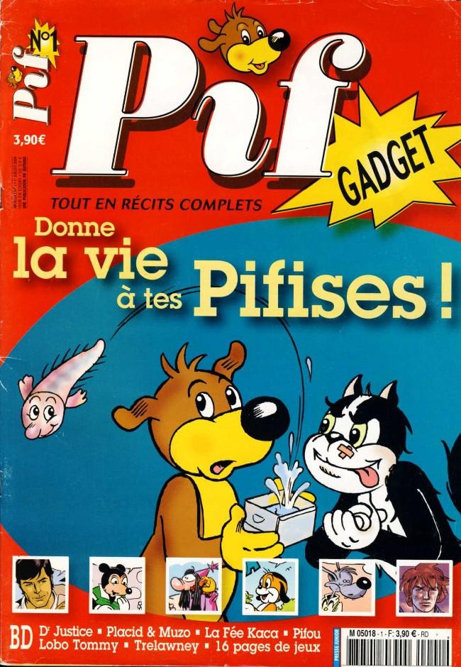 Couverture de Pif (Gadget) nouvelle série -1- Donne la vie à tes Pifises!