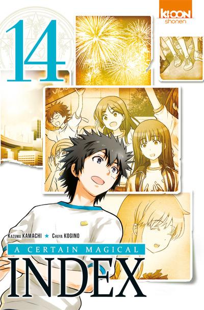 Couverture de A Certain Magical Index -14- Tome 14