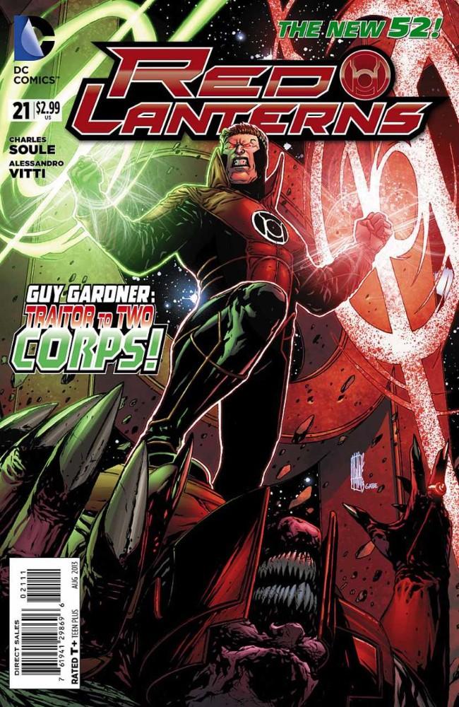 Couverture de Red Lanterns (2011) -21- The new Blood