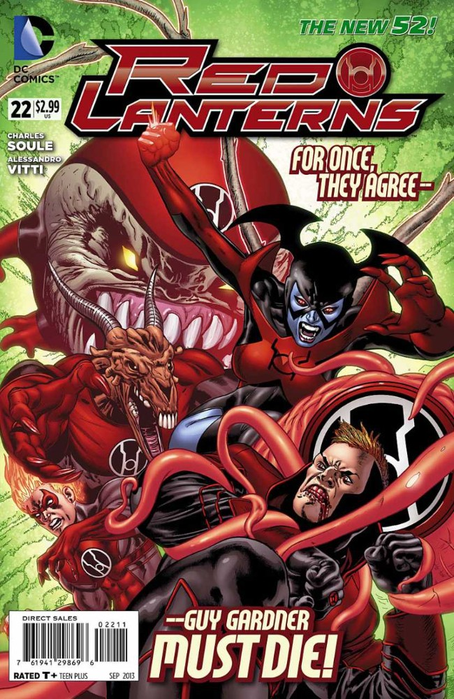 Couverture de Red Lanterns (2011) -22- The King is Red