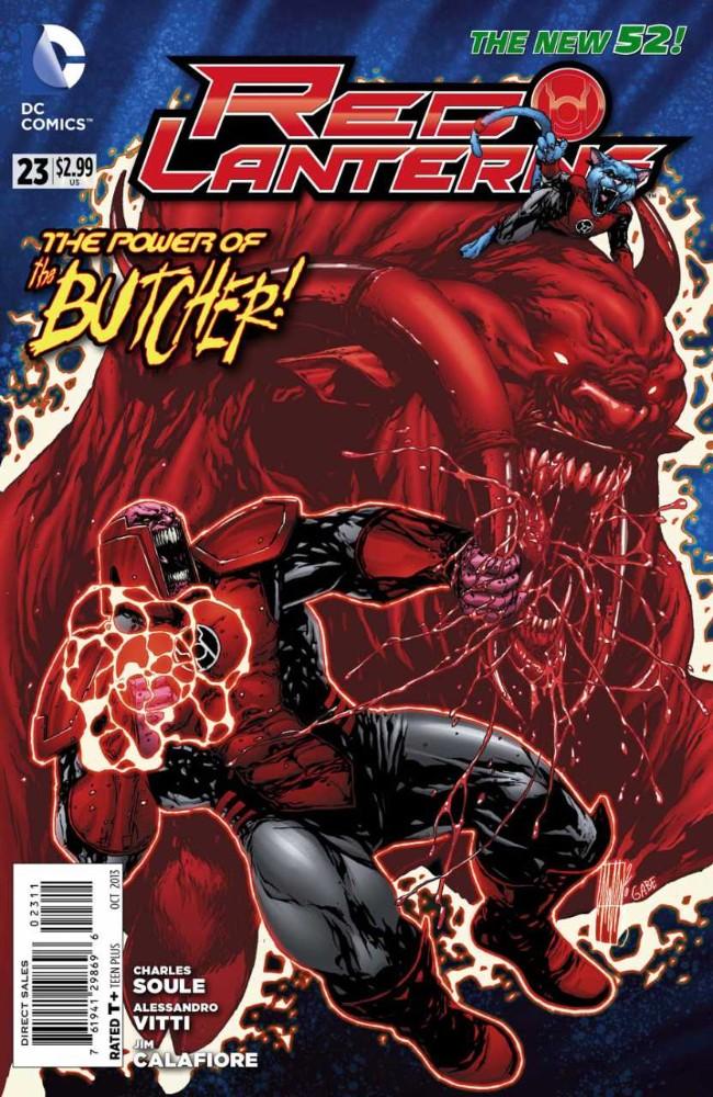 Couverture de Red Lanterns (2011) -23- The Butcher's Bill